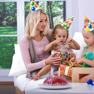 Celebrating birthdays and holidays with children can become more difficult after a divorce, so it's important for parents to be communicative and amicable for the sake of their kids.
