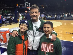 9 dad and boys in South Bend