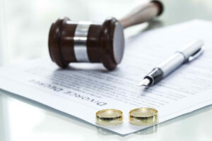 divorce filing