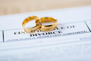filing divorce