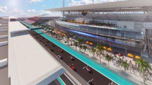 Miami formula one track
