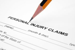 criteria for personal injury claim